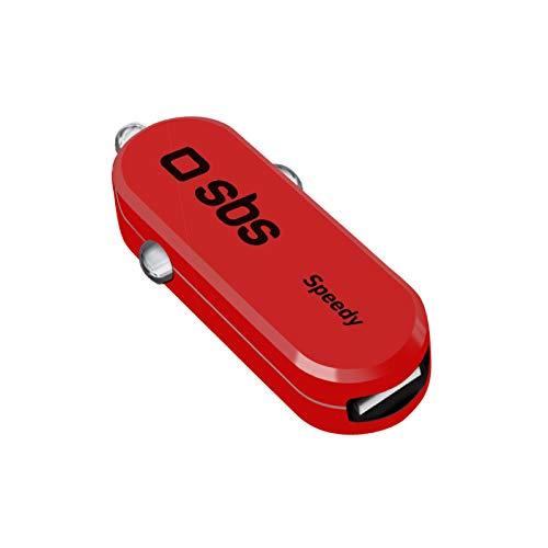 Caricabatterie da Auto Speedy A Forma di Macchina Rossa TECAR2ASPR