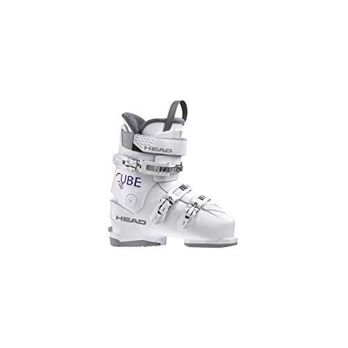 HEAD Damen Cube 3 60 Skischuhe, White, 265