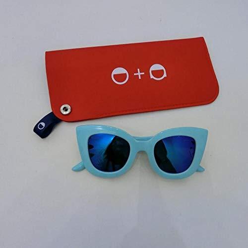 FZBK Hervorragend geeignet für DrivingChildren Sonnenbrillen - neuer UV-Schutz für Katzenaugen für Jungen und Mädchen polarisierter Farbton CAT (tiffany blue)