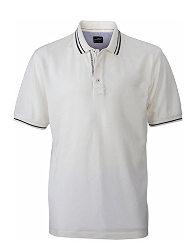 Men´s Lifestyle Polo Off-White-Navy