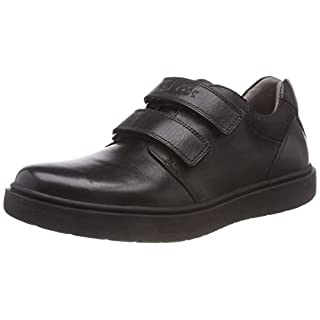 Geox J Riddock Boy H Low-Top Sneakers, (Black C9999), 3 UK Child
