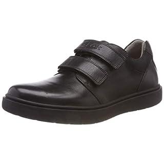 Geox J Riddock Boy H Low-Top Sneakers, Black (Black C9999), 11.5 UK Child