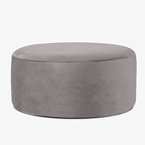 XiuHUa Schuhgeschäft Bekleidungsgeschäft Sofa Test Shoe Bench Round Ottoman Shop Rest Couchtisch Sofa Bench Big Hocker Fuß, 90cmX35cm Fußbank (Color : E)