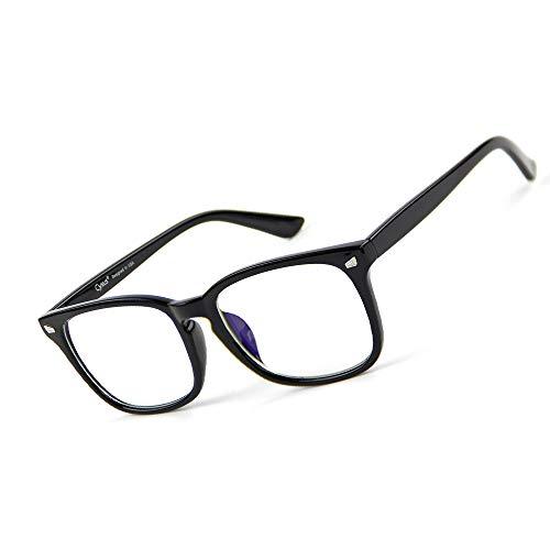 Cyxus Blaulichtfilter Computer-Gläser zum Blockieren von UV-Kopfschmerz [Verringerung der Augenbelastung] Vintage Brillen, Unisex (Herren/Damen)