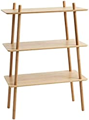 JYSK VANDSTED Shelving Unit with 3 Shelves, Bamboo - 80 x 110 x 40 cm