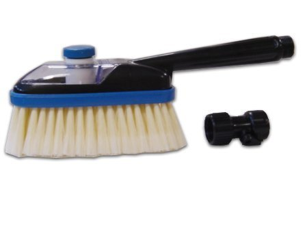 SpareHand Multi-Purpose Cleaning Brush with Solution Chamber and Hose Attachment by Stoneman Avenue Corporation