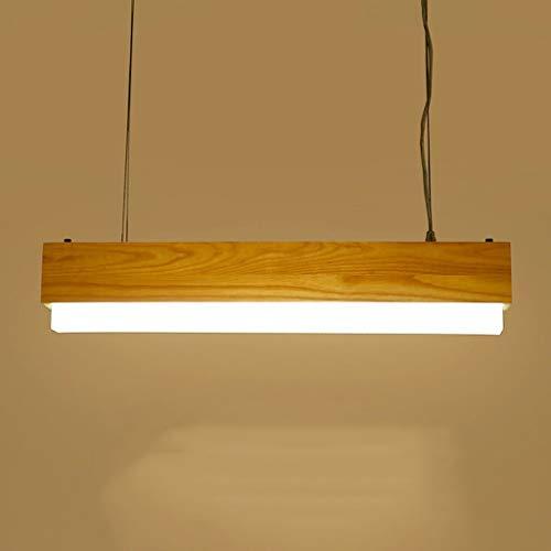LZQ Ellie Chandelier - Kreative Persönlichkeit Esszimmermöbel aus massivem Holz, höhenverstellbar, Innenbeleuchtung,Warmweißes Licht-60cm