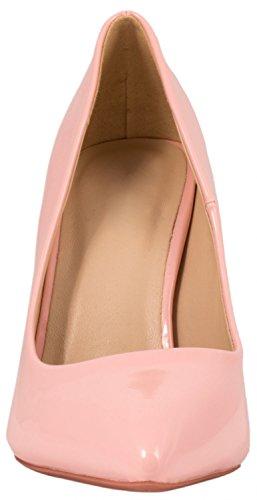 Elara punta tacco | Comodo di Stilettos | Elegante High Heels | chunkyrayan Pink