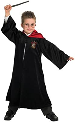 Harry Pottery Deluxe School Robe - Niños Disfraz