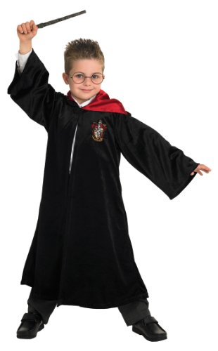 Rubbies - Disfraz de Harry Potter infantil, talla L (7-8 años) (883574L)
