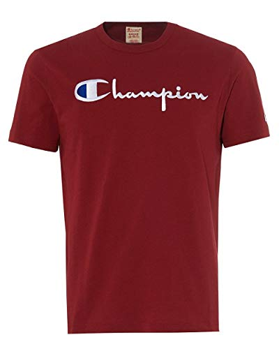 Champion Herren Oberteil/T-Shirt Cotton Graphic Gr. XXL, rot -
