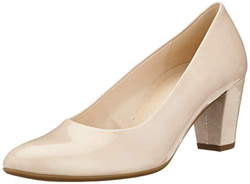 Gabor Shoes Damen Comfort Fashion Pumps, Beige (Sand 82), 36 EU