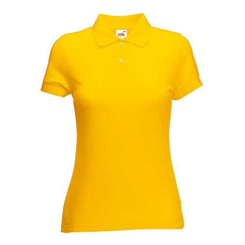 Fruit of the Loom - Lady-Fit Poloshirt Mischgewebe '65/35 Polo' sunflower