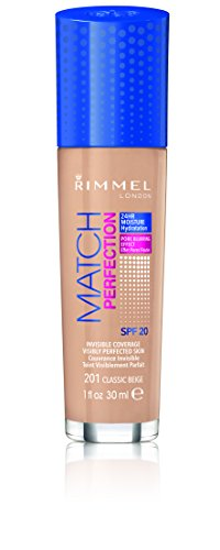 Rimmel London 57908 Match Perfection SPF 20 Fondotinta - 30 ml