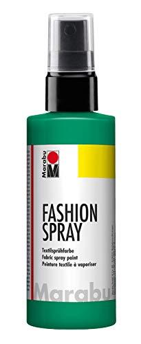 Marabu - vernice per stoffa con erogatore spray, 100 ml, colore menta