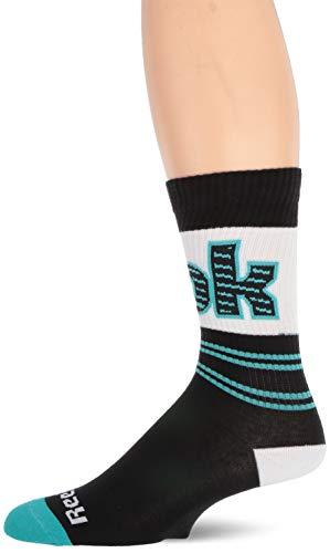 Reebok Herren Classic Basketball Crew Sock schwarz, Mens 5-6 (Pro-5-basketball-shorts)