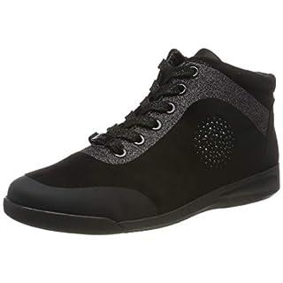 ARA Damen ROM 1244457 Hohe Sneaker, Schwarz 01, 39 EU