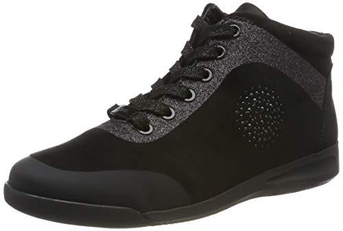 ARA Damen ROM 1244457 Hohe Sneaker, (Schwarz 01), 41 EU