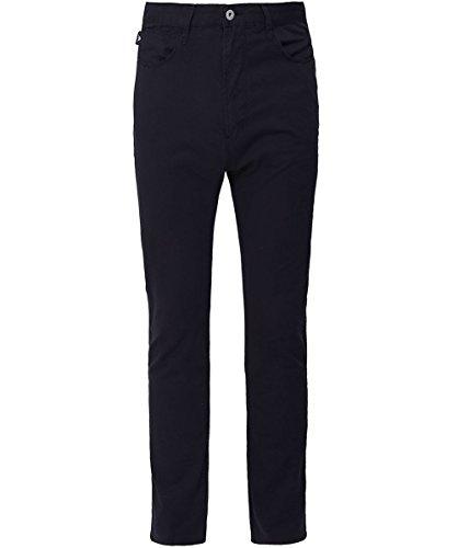 Emporio armani uomo j06 slim fit leggero twill tessuto jeans marina 50 regolari