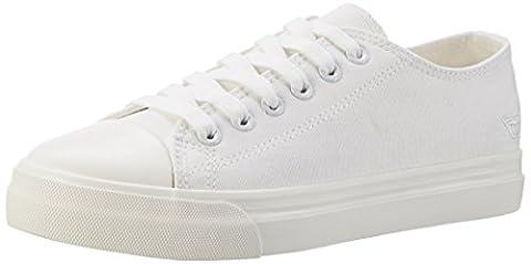 Tamaris Damen 23600 Sneakers, Weiß (White 100), 39 EU
