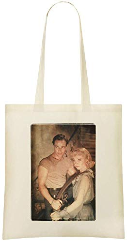 Un tramway nommé désir - A Streetcar Named Desire Custom Printed Grocery Tote Bag - 100% Soft Cotton - Eco-Friendly & Stylish Handbag For Everyday Use - Custom Shoulder Bags