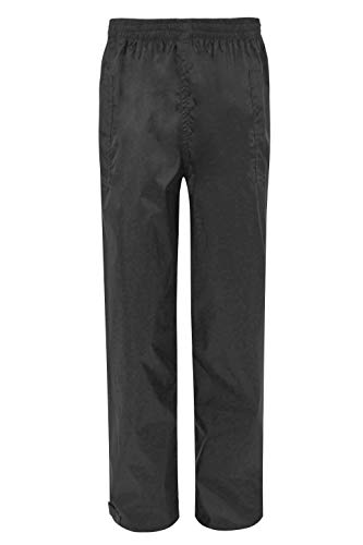 f you are on a budget then you can consider the Mountain Warehouse Pakka Men's Waterproof over Trousers as a good option. These trousers are made of nylon material which is reputable for its durability.