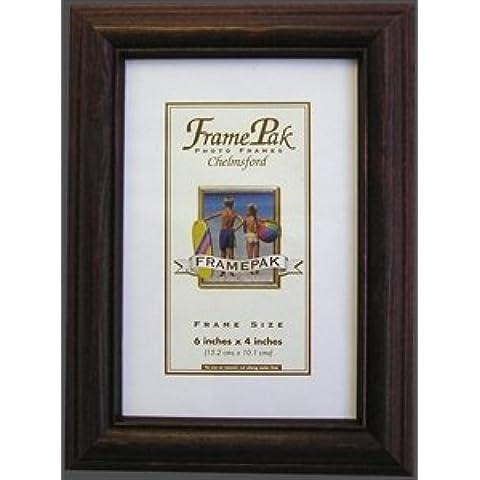 Cornice portafoto in legno di palissandro, legno, 25mm * 32Misure * H1, Legno, A4