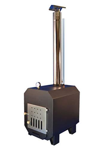TRONGAARD Poolofen/Poolheizung/Ofen für Badetonnen/Badefässer 40KW - mit Holz befeuert -