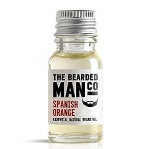 The Bearded Man Company Huile essentielle naturelle pour barbe Orange d'Espagne 10ml