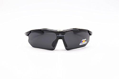 Gafas de sol polarizadas Wayfarer ROBESBON - Gafas de sol cortavientos para ciclismo, moto, esquí, etc. Para Hombres y Mujeres