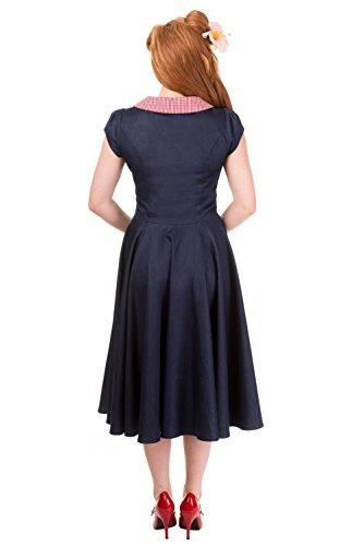 Banned - Robe - Femme Bleu - Denim