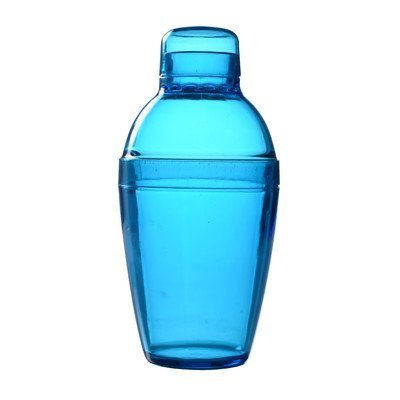Fineline Settings Quenchers Cocktail Shaker, 7-Ounce, Blue by Fineline Settings -
