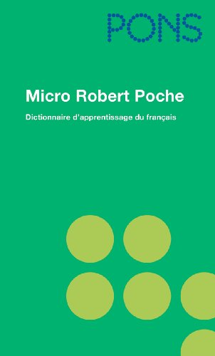 PONS Micro Robert Poche. Französisch