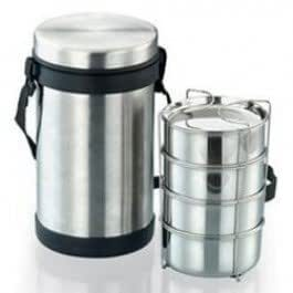 JVL Hot Lunch Box (3 Containers)
