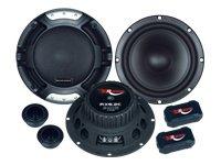 Renegade RX6.2C Oval XLR 200W Auto-Lautsprecher–KFZ-Lautsprecher (XLR, 200W, 100W, 4Ohm, Neodym, 5,7cm)