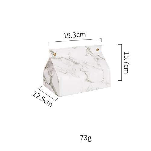 GYXYZS Marmormuster Tischset Wasserdicht Western Tischset Isolierkissen Aufbewahrungspapier Handtuchtasche