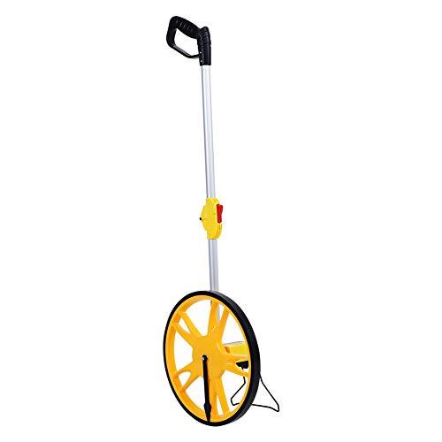 Messrad, Distanzmesser, Kilometerzähler, faltbar, hohe Präzision, mechanisch, Messrad, Distanzmessung 0 – 9999,9 m