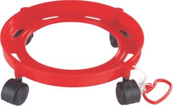 Gas Cylinder Trolley With Wheels | Gas Trolly | Lpg Cylinder Stand  available at amazon for Rs.240