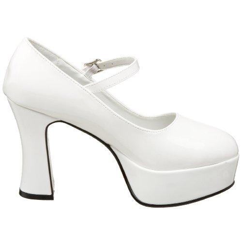 Pleaser PleaserMar50 - Mary Jane Donna Bianco (Bianco (White))