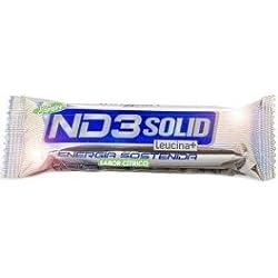 Infisport ND3 Sólido Barrita Energética 10 x 40g Cítrico con Cafeína