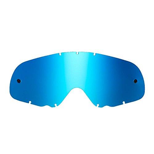 SeeCle 416164 blau ersatzgläser für masken kompatibel mit Oakley Crowbar Maske