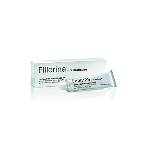 Labo FILLERINA 3d Collagen Crème Contour Lèvres Filler Lips mesure 5 Plus 15 ml