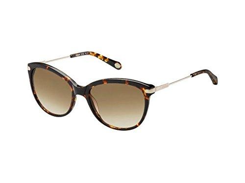 Fossil fos 2034/s, occhiali da sole donna, havana, 56