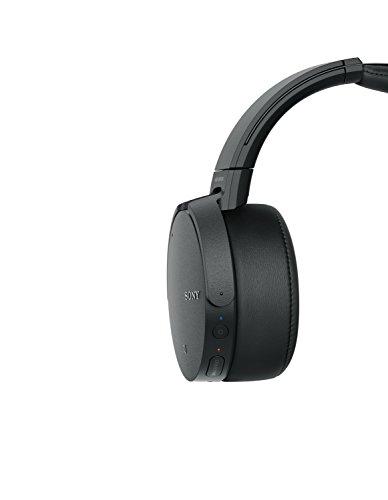 Sony MDR-XB950N1 kabelloser Kopfhörer mit Geräuschminimierung (Noise Cancelling, Extrabass, NFC, Bluetooth, faltbar) schwarz - 11