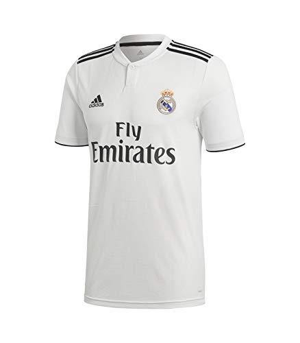 Adidas Real Madrid 2018/2019 Camiseta 1ª Equipación, Hombre, Blanco, M