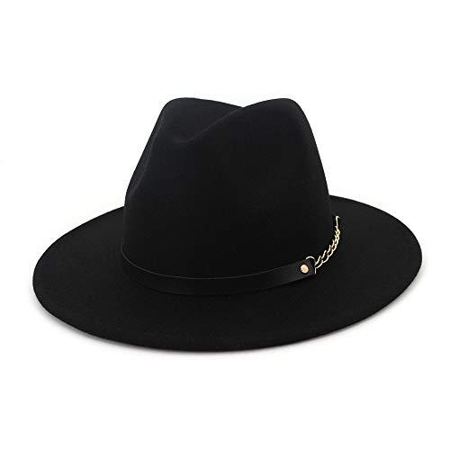 Azly-Caps Sombreros de Vaquero de Lana Fedora