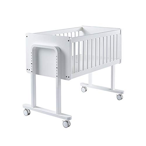 Produkte für Kinder Kinderbett, Massivholz Baby Bett Steppbett Multi-Funktions-Neugeborenen Bett variablen Schreibtisch