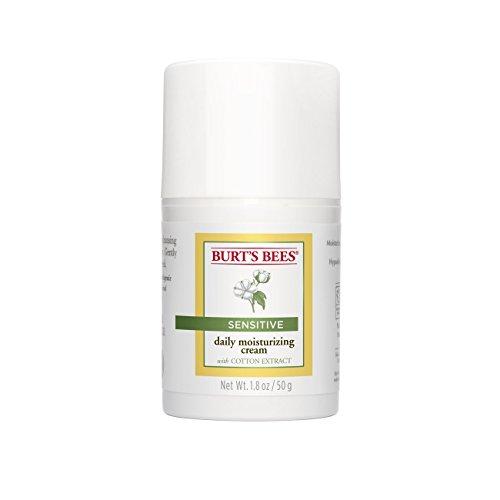 Burt's Bees Tagescreme für empfindliche Haut mit Baumwollextrakt, 1er Pack (1 x 50 g)