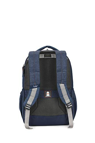 Skybags Beatle Pro 27 LTR Blue Laptop Backpack (17 inch Laptop Appropriate) Image 4