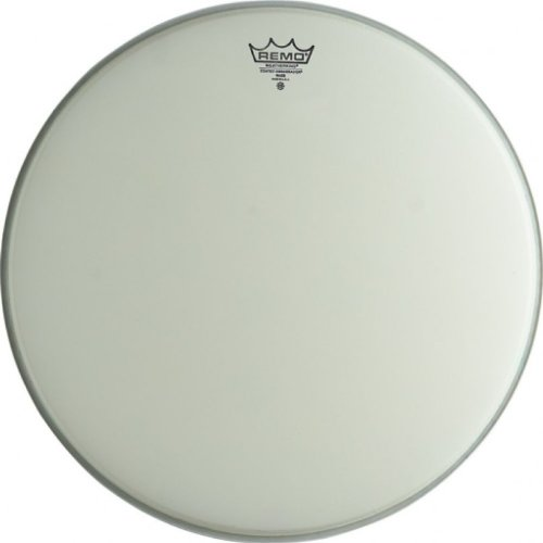 Remo br1120-pr 20 Ambassador Bass Drum Head, beschichtet Glatte weiß (Remo Bass Drum Head 20)